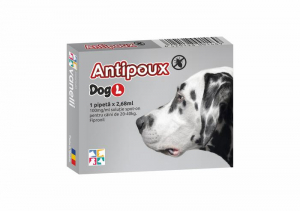 Antipoux Dog antiparazitar extern  caine L1