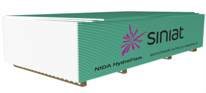 PLACA GIPS-CARTON NIDA HYDROFLAM 15MM [0]