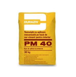 Tencuiala mecanizata Duraziv PM40 [0]