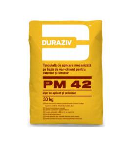 Tencuiala mecanizata Duraziv PM42 0