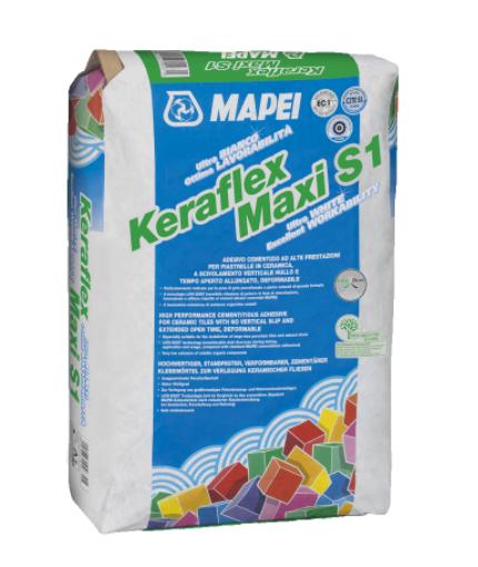 Adeziv gresie si faianta Mapei Keraflex Maxi S1 [0]