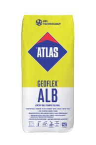 Adeziv marmura Atlas Geoflex ALB 0