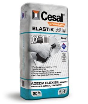 Adeziv marmura Cesal Elastik ALB [0]