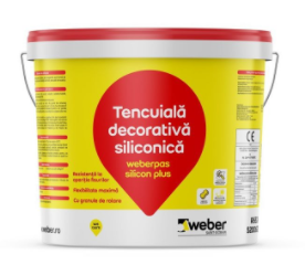 Tencuiala decorativa Weberpas silicon plus 0