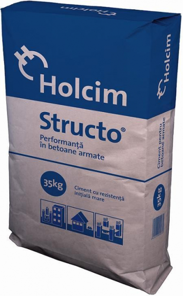 CIMENT STRUCTO CEM II BN 42.5 40KG/SAC 0