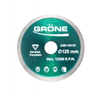 DISC DIAMANT GRONE 125MM X 22.23MM HARDEX 0