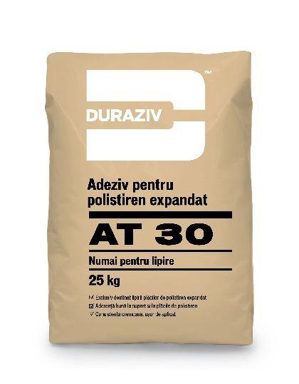 Duraziv AT30 adeziv pentru lipire polistiren expandat 25Kg 0