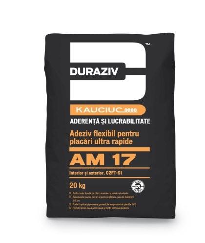 Duraziv cu Kauciuc AM17 adeziv flexibil, pentru placări ultra rapide GAMA EXPERT 20Kg 0