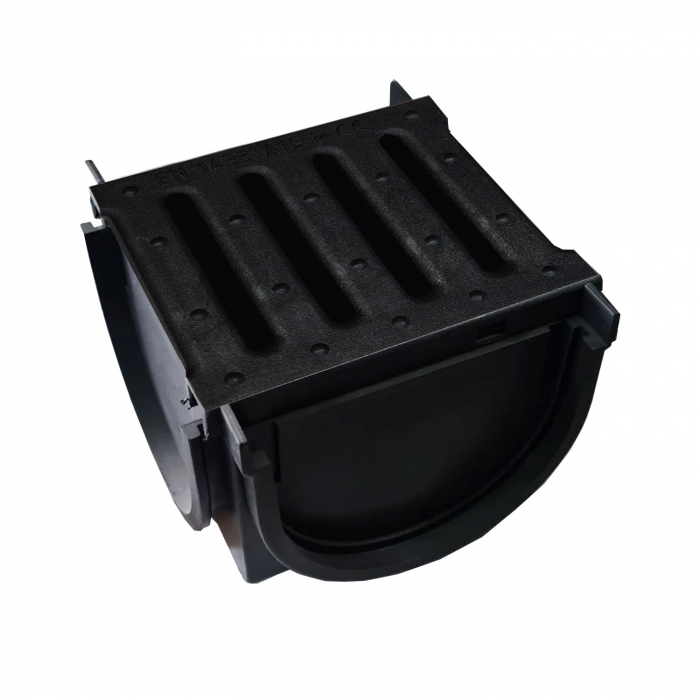 Element Kit Drainbox Smart pentru imbinarea rigolelor in T sau L, cu gratar din polipropilena [1]