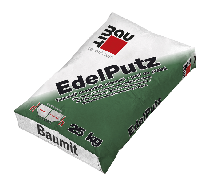 Tencuiala decorativa minerala Baumit EdelPutz 0