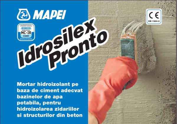 Mapei Idrosilex Pronto Mortar hidroizolant 1