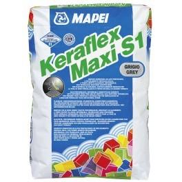 Mapei Keraflex Maxi S1 ALB  adezivi piatra naturala si marmura 0