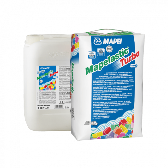 Mortar hidroizolant Mapelastic Turbo 0