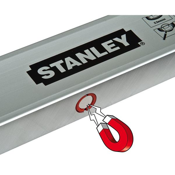 Nivela Classic magnetica 60cm Stanley STHT1-43111 2
