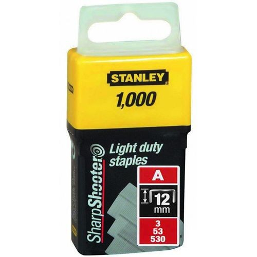 Pachet 1000 capse tapiterie tip A Stanley 1-TRA208T 0