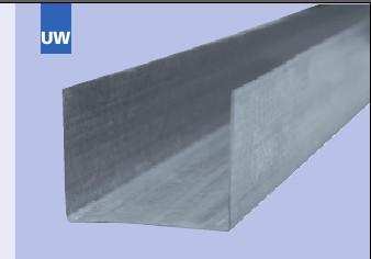 Profilele Pentru Rigips  UW30 x 3000 x 0.5 mm 1