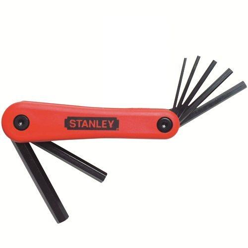 Set de 7 chei imbus pliabil metric 2.5-10mm Stanley 4-69-262 0