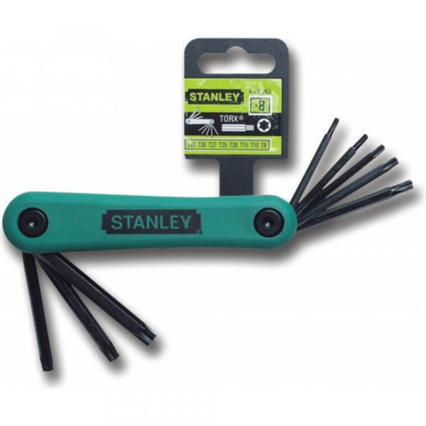 Set pliabil de 8 chei torx 9-40mm Stanley 4-69-263 1
