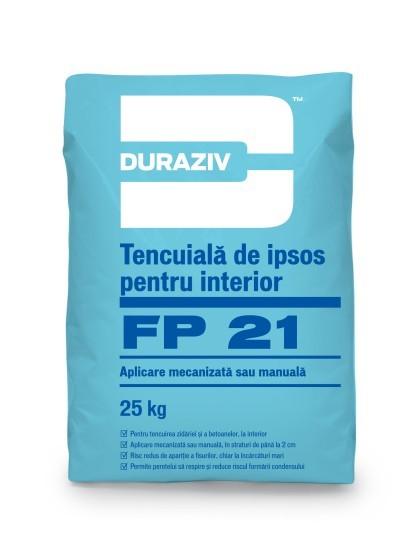 Tencuiala de ipsos pentru interior DURAZIV FP 21  0