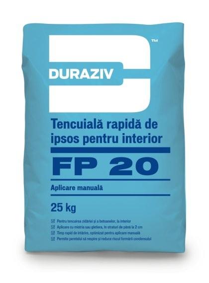 Tencuiala rapida de ipsos pentru interior  FP 20 0