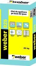 WEBER B25 Glet de Egalizare  0