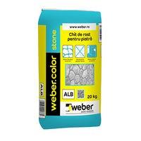 Weber.color Stone Chit pentru piatra naturala (ALB) - 20 kg 2