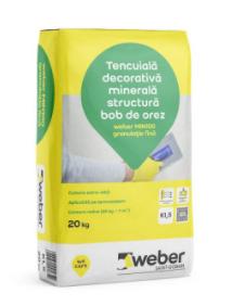 Tencuiala decorativa minerala Weber MIN100 k2 [0]