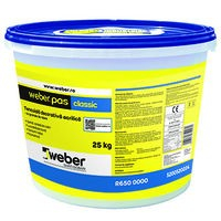 Weber.pas Classic Tencuiala Decorativa (acrilica) - Grupa de culoare 2 -  25 Kg 1