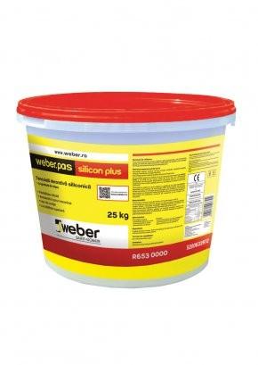 Weber.pas silicon plus Tencuiala Decorativa Siliconica - Grupa de culoare 3/culori istorice - 25 kg 1