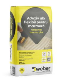 Adeziv marmura Weber.set marmo plus 0