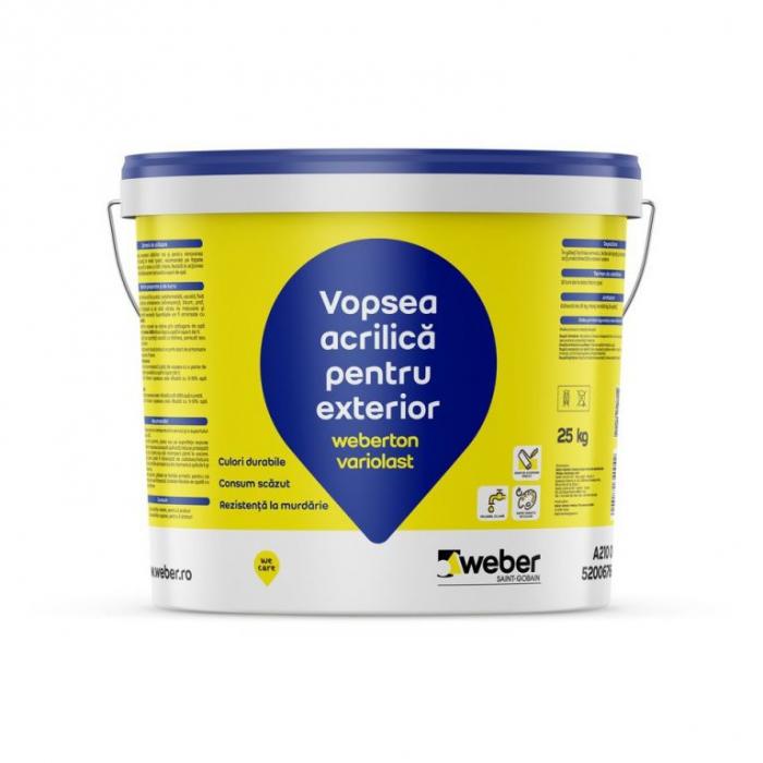 Vopsea decorativa Weberton variolast grupa 2 culori [0]