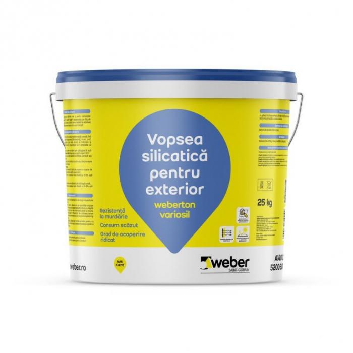 Vopsea decorativa Weberton variosil grupa 1 culori 0