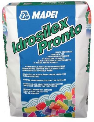 Mapei Idrosilex Pronto Mortar hidroizolant0