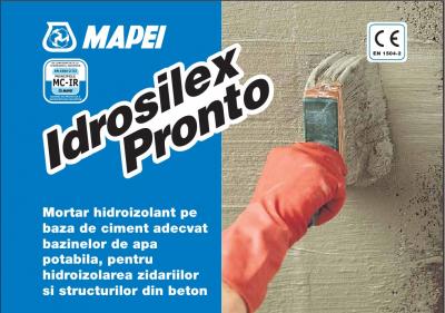 Mapei Idrosilex Pronto Mortar hidroizolant1
