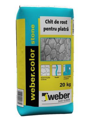 Weber.color Stone Chit pentru piatra naturala (GRI) - 20 kg2