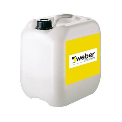 Weber G800 Grund de amorsaj pentru vopsele silicatice de exterior - 10kg0