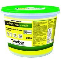 Weber.pas mozaik Tencuiala decorativa tip mozaik - 20 kg1