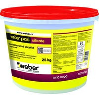 Weber.pas Silicate Tencuiala Decorativa - Grupa de culoare 1 - 25 Kg0
