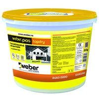 Weber.pas TopDry Tencuiala Decorativa Ultrapermeabila - Grupa de culoare 2 - 25 kg1