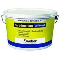 Weber.ton Variolast Vopsea acrilica pentru exterior - Grupa de culoare 2 - 25kg0