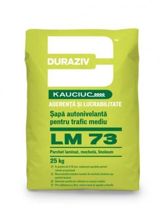 DURAZIV LM 73  - Șapă autonivelantă pentru trafic mediu, aditivată cu Kauciuc 0