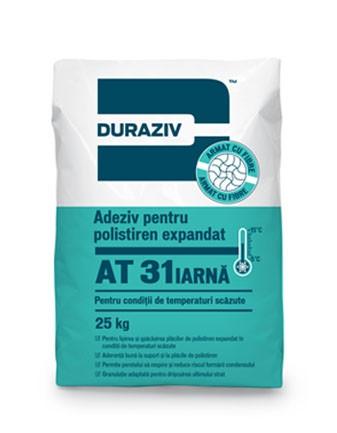 DURAZIV AT 31 IARNA Adeziv pentru polistiren expandat pentru condiții de temperaturi scăzute [0]