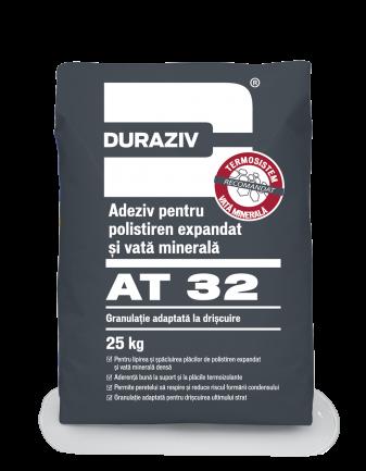 DURAZIV AT 32 Adeziv pentru polistiren expandat și vată minerală 0