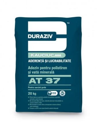 DURAZIV AT 37 Adeziv pentru polistiren și vată minerală, pentru sarcini grele, aditivat cu Kauciuc 0