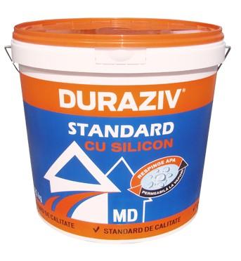 DURAZIV Standard cu Silicon TENCUIALĂ DECORATIVĂ GRANULATĂ MD 0