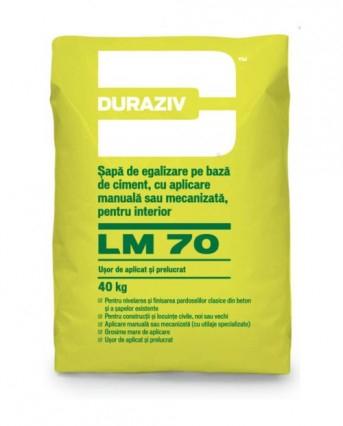 DURAZIV LM 70 Şapă de egalizare pe bază de ciment [0]