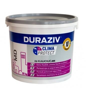 DURAZIV Clima Protect® cu Kauciuc TENCUIALĂ DECORATIVĂ GRANULATĂ MD 0
