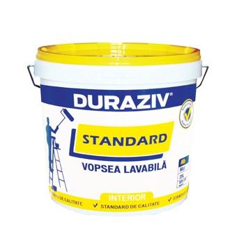 DURAZIV Standard VOPSEA LAVABILĂ ALBĂ 0