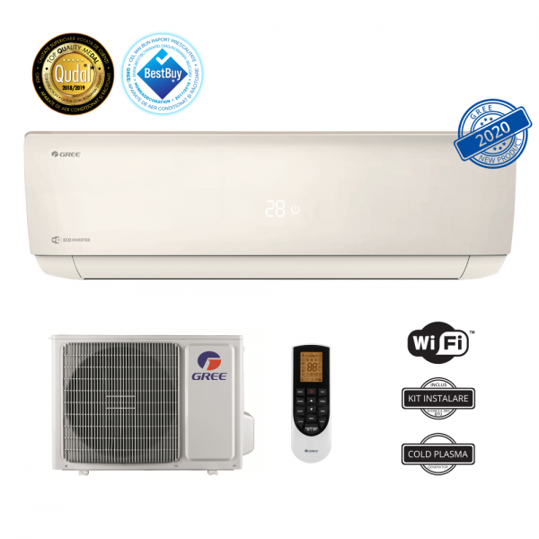 Aer conditionat BORA Eco Inverter A2 Silver 24000 BTU 0