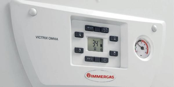 Centrala termica pe gaz in condensare Immergas Victrix Omnia 25 0